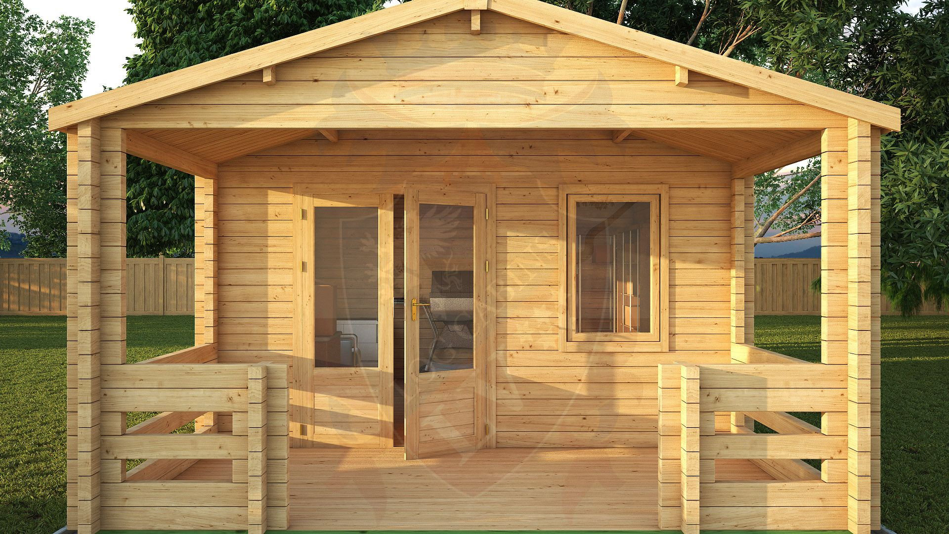 Log Cabins Euro Range