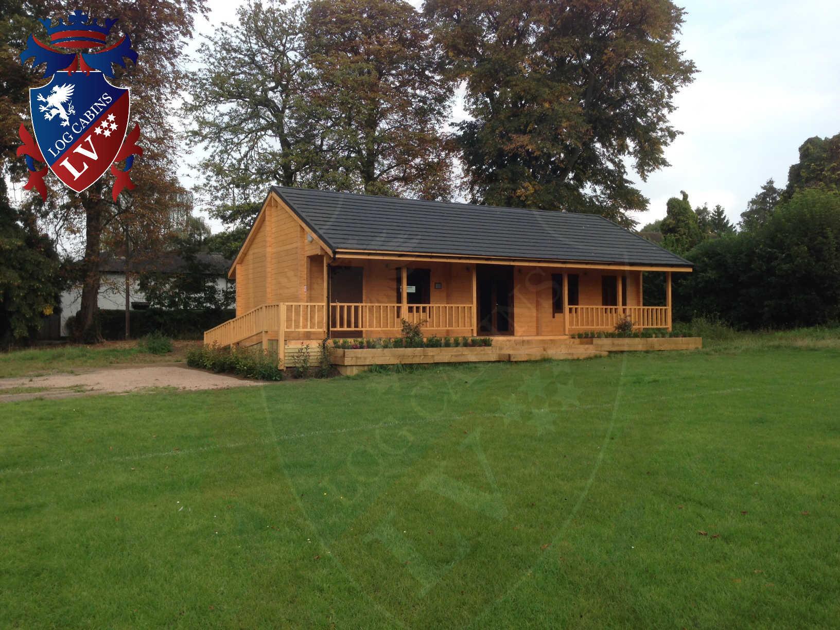 120mm glulam log cabins 28