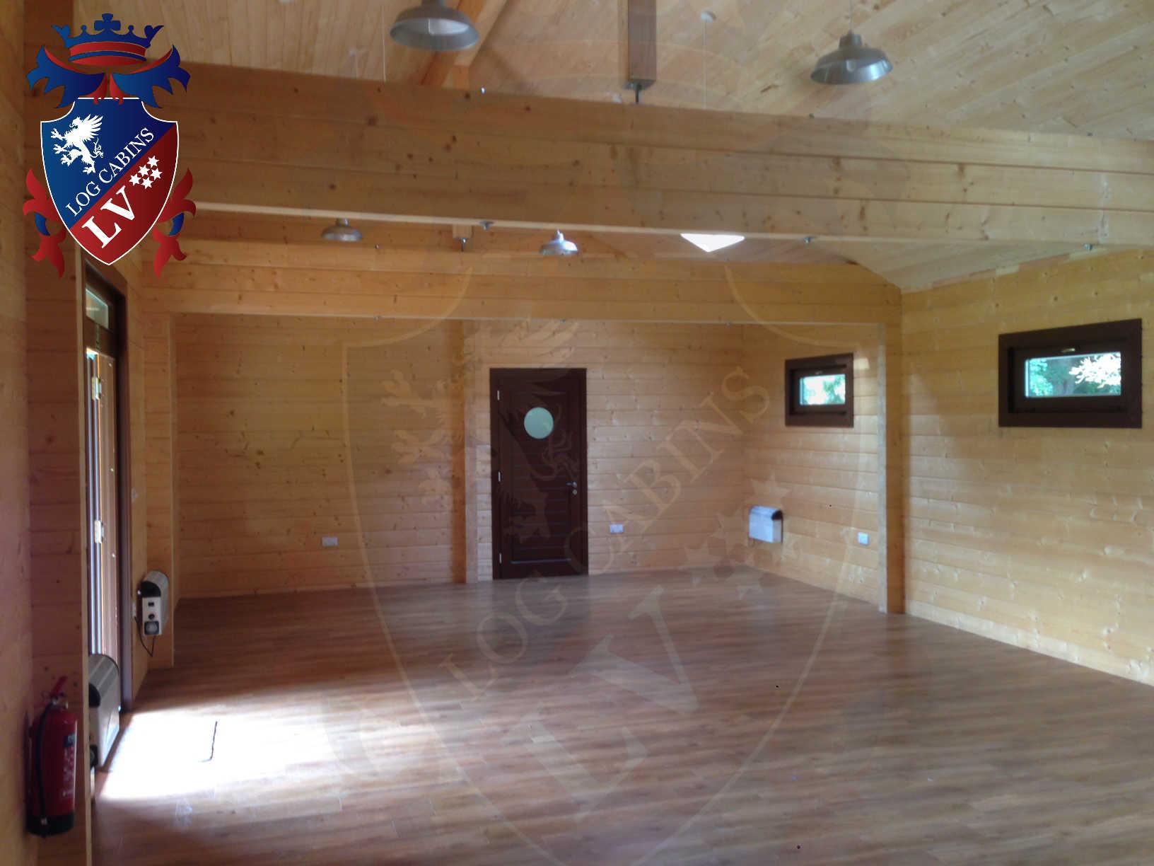 120mm glulam log cabins 29