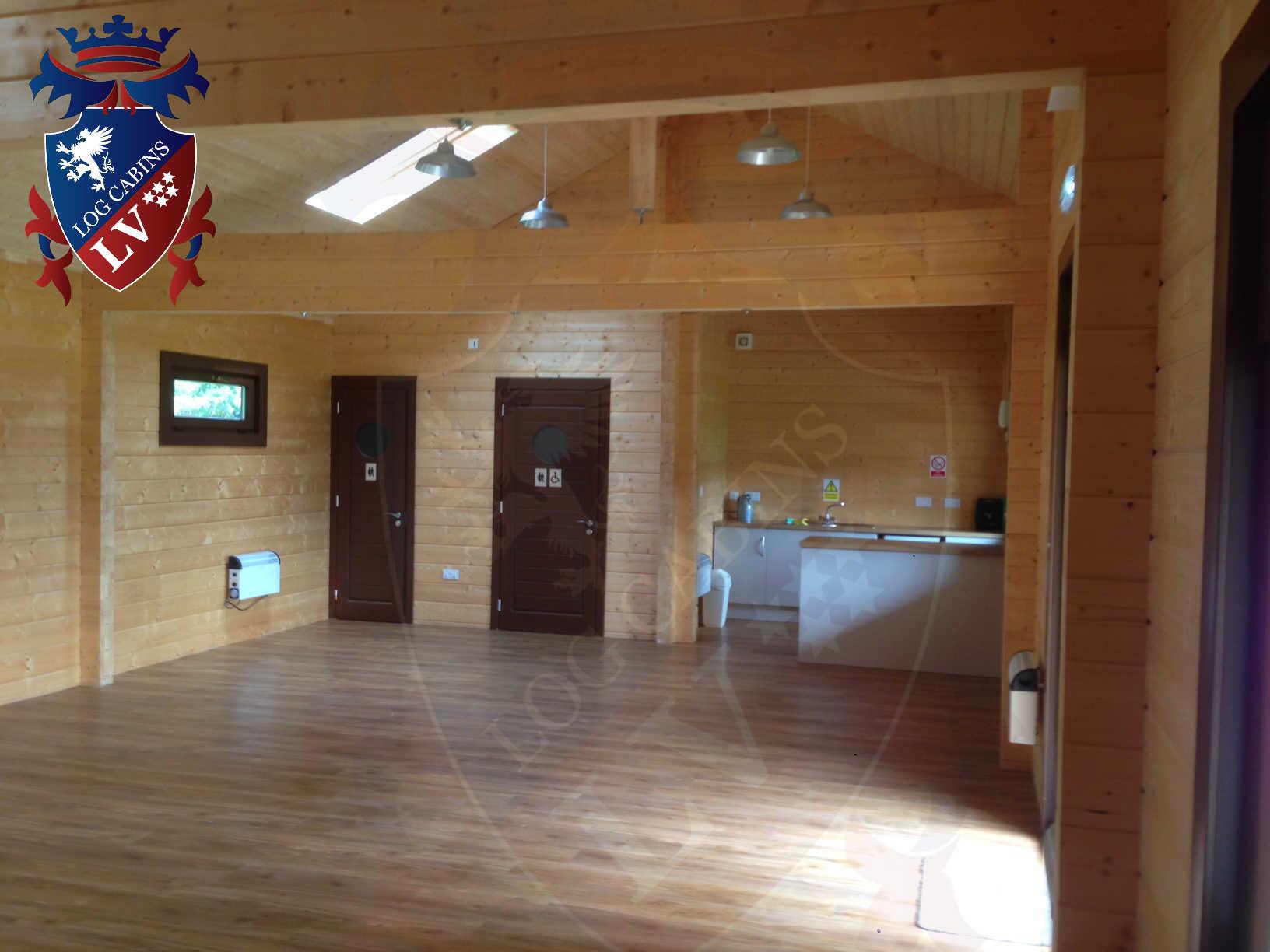 120mm glulam log cabins 31