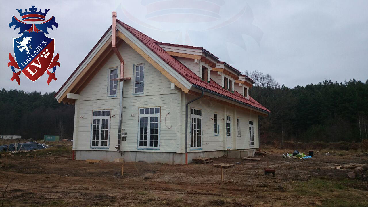80mm Glulam Log Cabins  7598