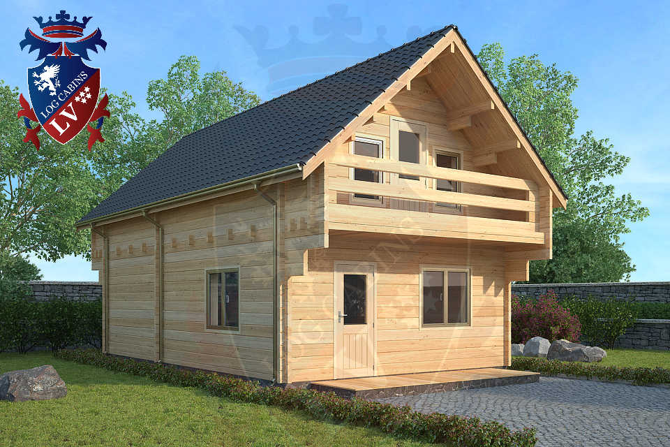 80mm glulam euro range log cabins