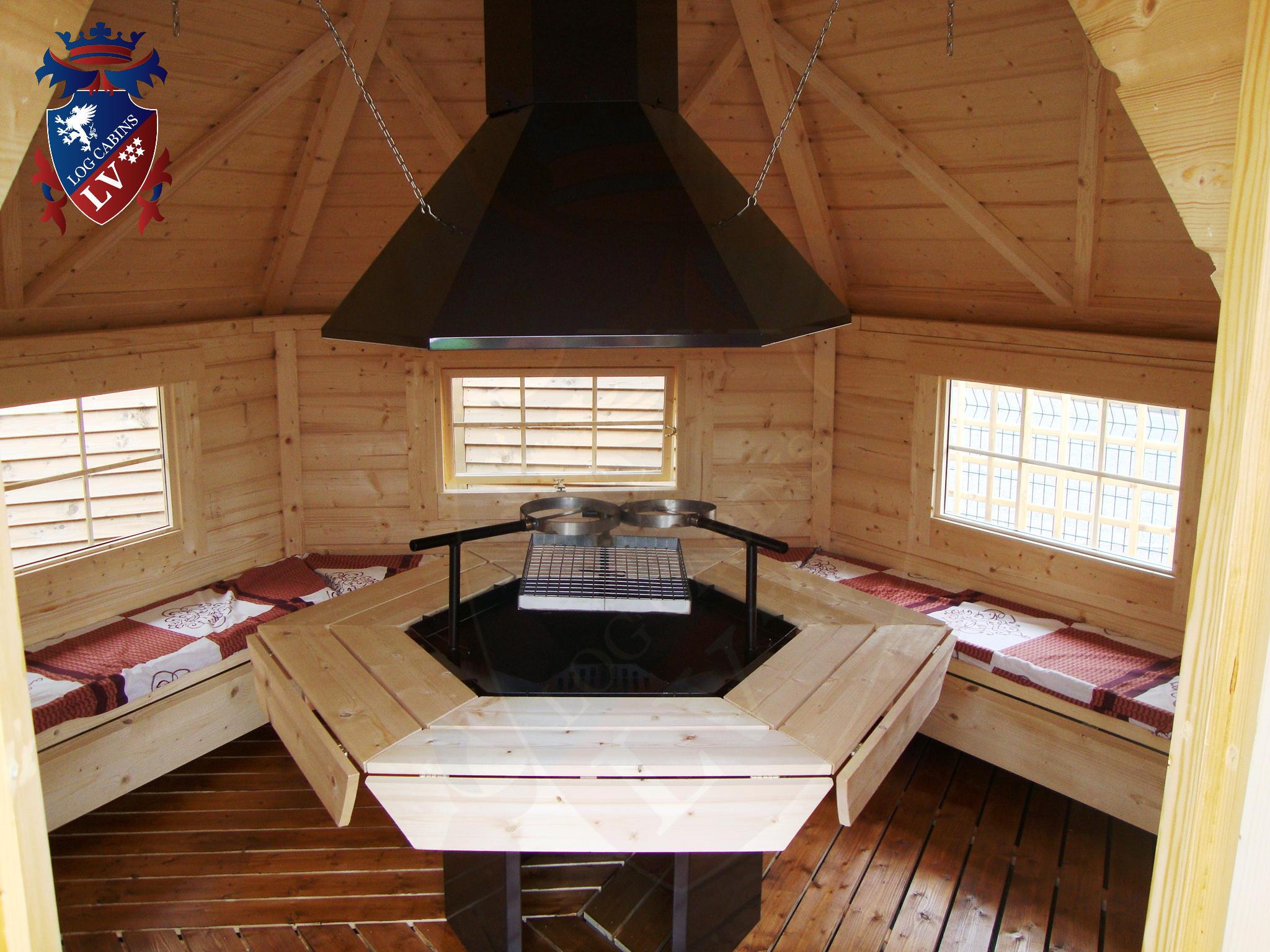Bbq Grill Cabins Huts Kotas From Logcabins Lv Log Cabins