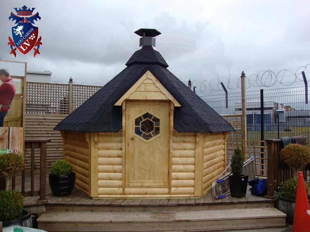 BBQ Cabins-Huts- Kotas- from log cabins.v   57