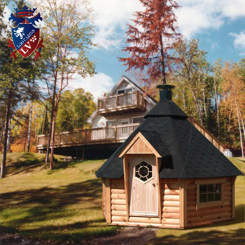 BBQ Cabins-Huts- Kotas- from log cabins.v   58