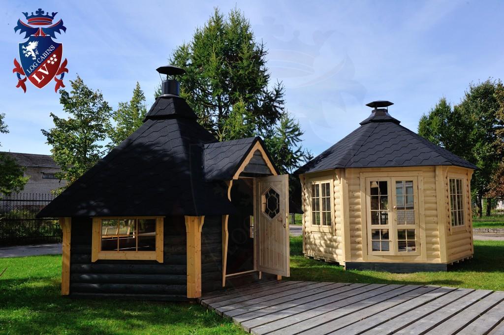 BBQ Cabins-Huts- Kotas- from log cabins.v   69
