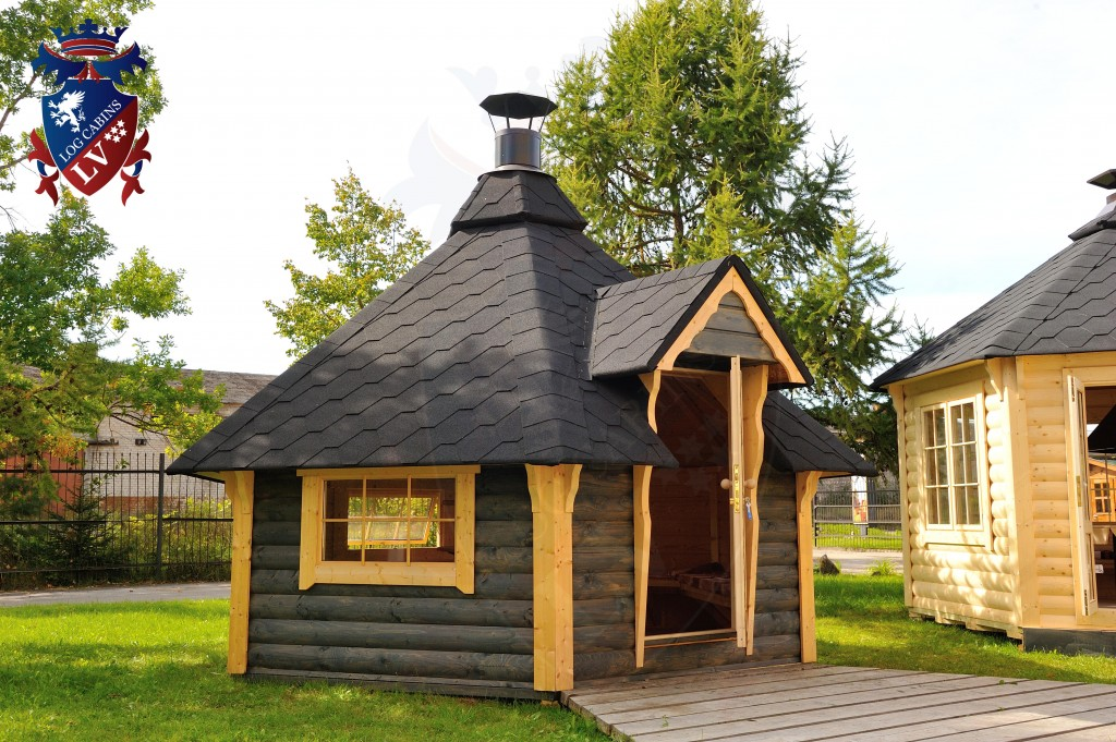 BBQ Cabins-Huts- Kotas- from log cabins.v   76