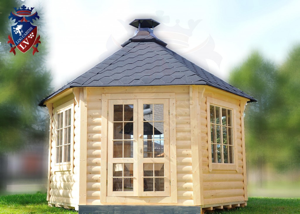 BBQ Cabins-Huts- Kotas- from log cabins.v   80