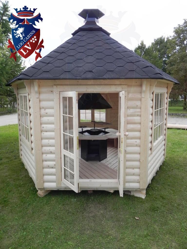 BBQ Cabins-Huts- Kotas- from log cabins.v   81