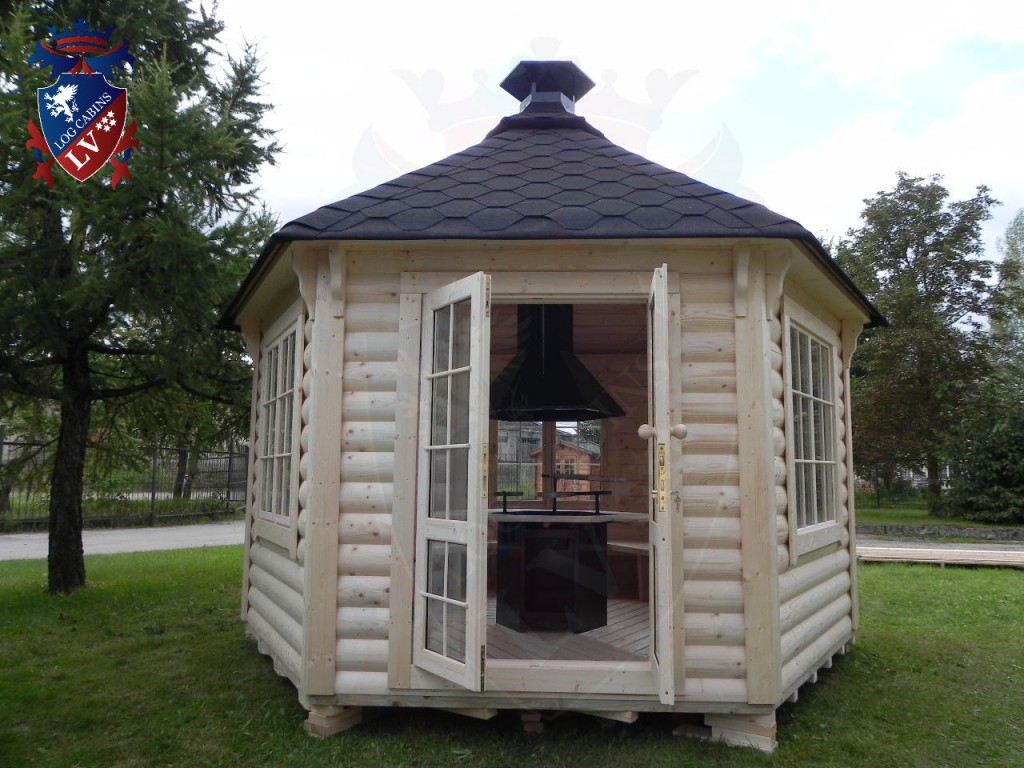 Superb img of BBQ Grill Cabins Huts Kotas from logcabins.lv Log Cabins LV Blog with #4E5B34 color and 1024x768 pixels