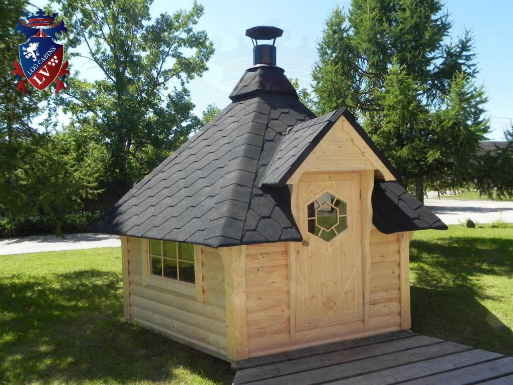 BBQ Cabins-Huts- Kotas- from log cabins.v   84