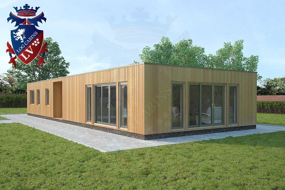 quality bespoke timber frame park homes