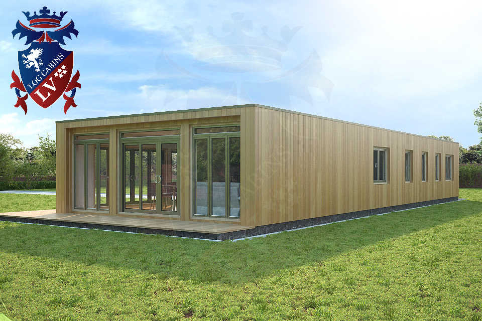 Bespoke highly insualted park home timber frame Buildings 12