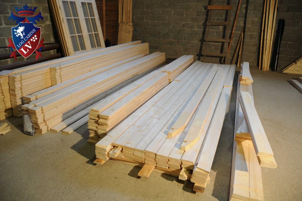 build cabins
