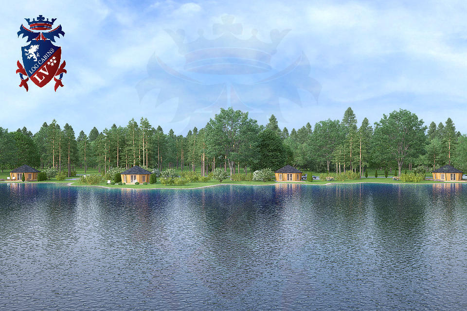 Camping Lodge-logcabins.lv