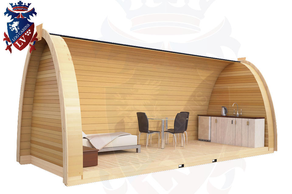 New Camping Pod 2013 Log Cabins Lv Blog