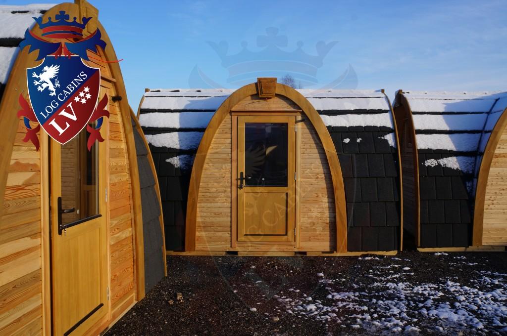 camping Pods-logcabins.lv