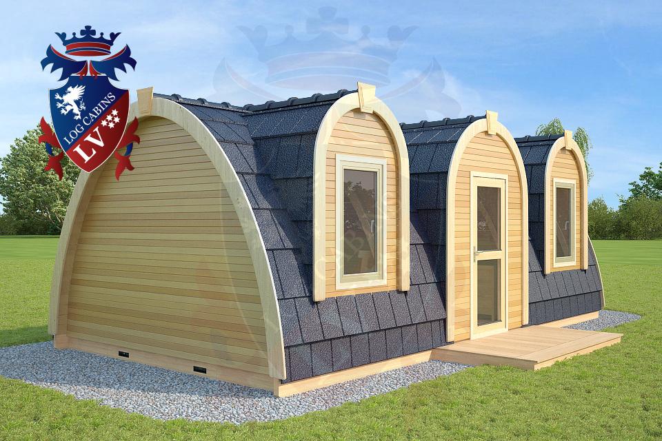 Manufacturing Camping Pods UK