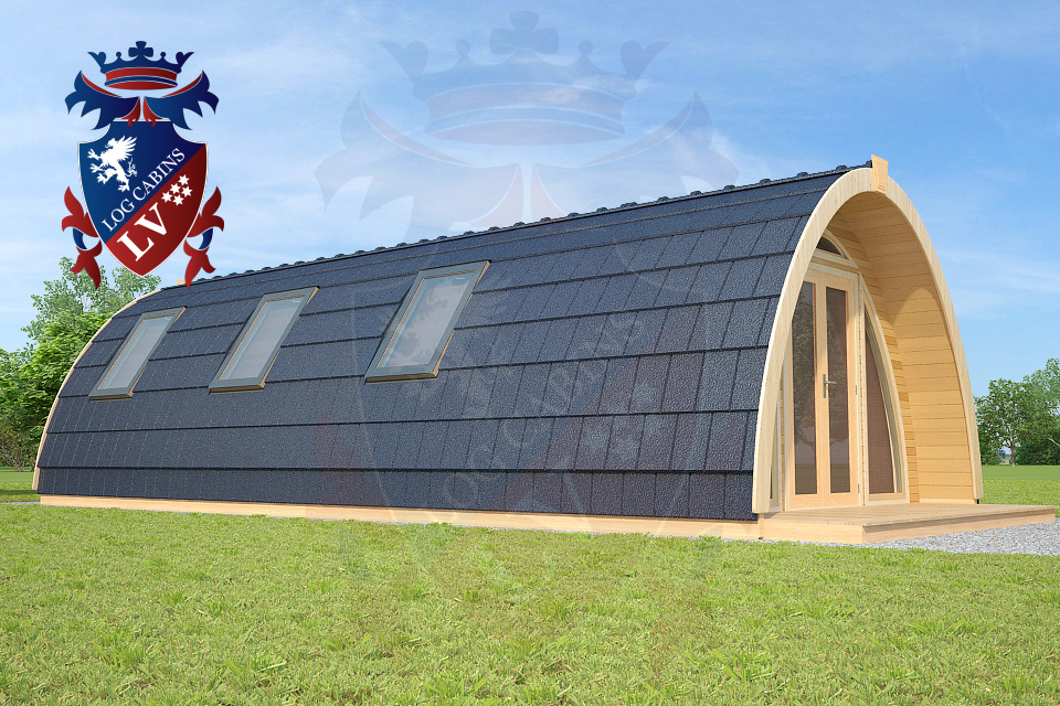 best camping pods in the UK