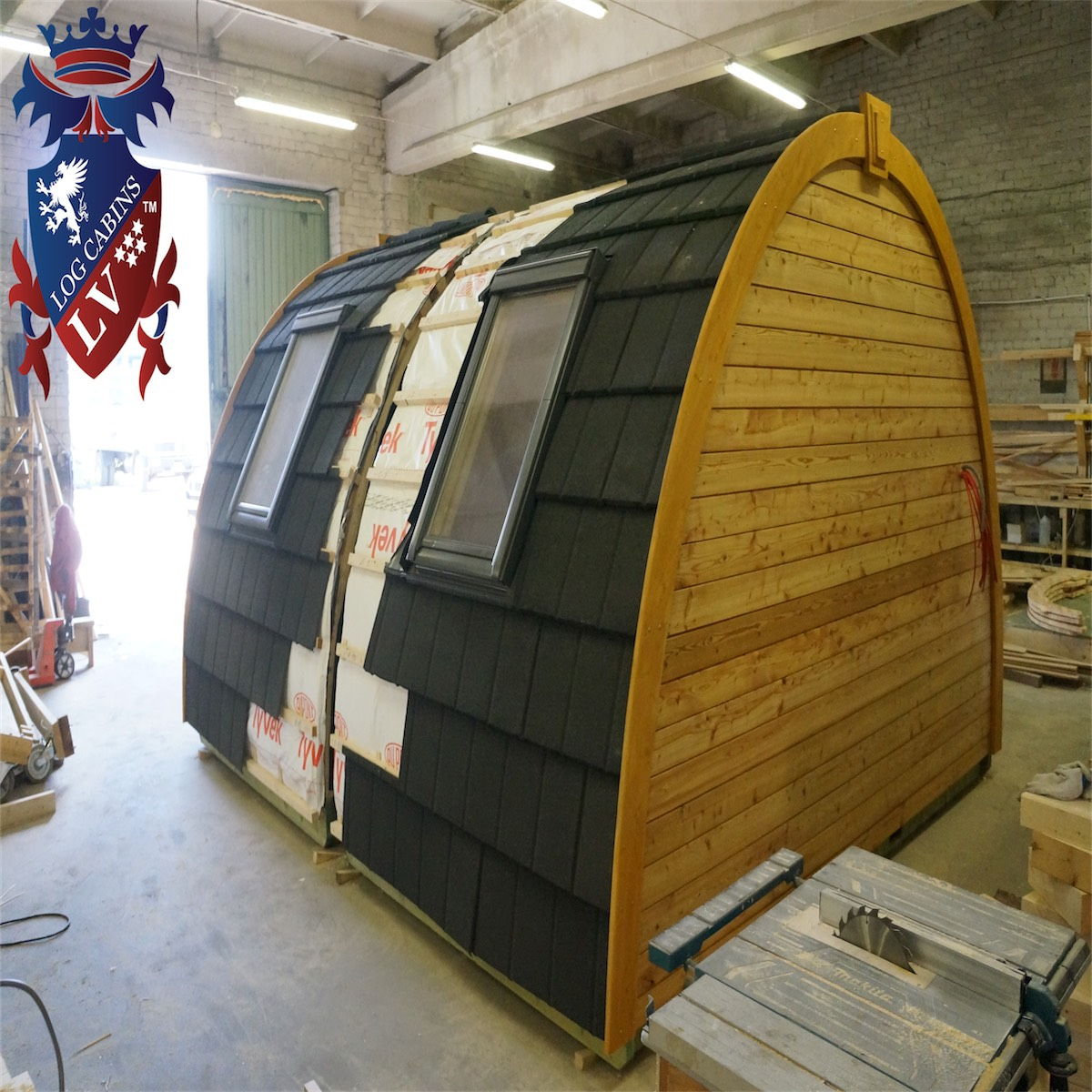 Camping Pods 3