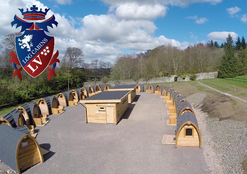 camping pods UK