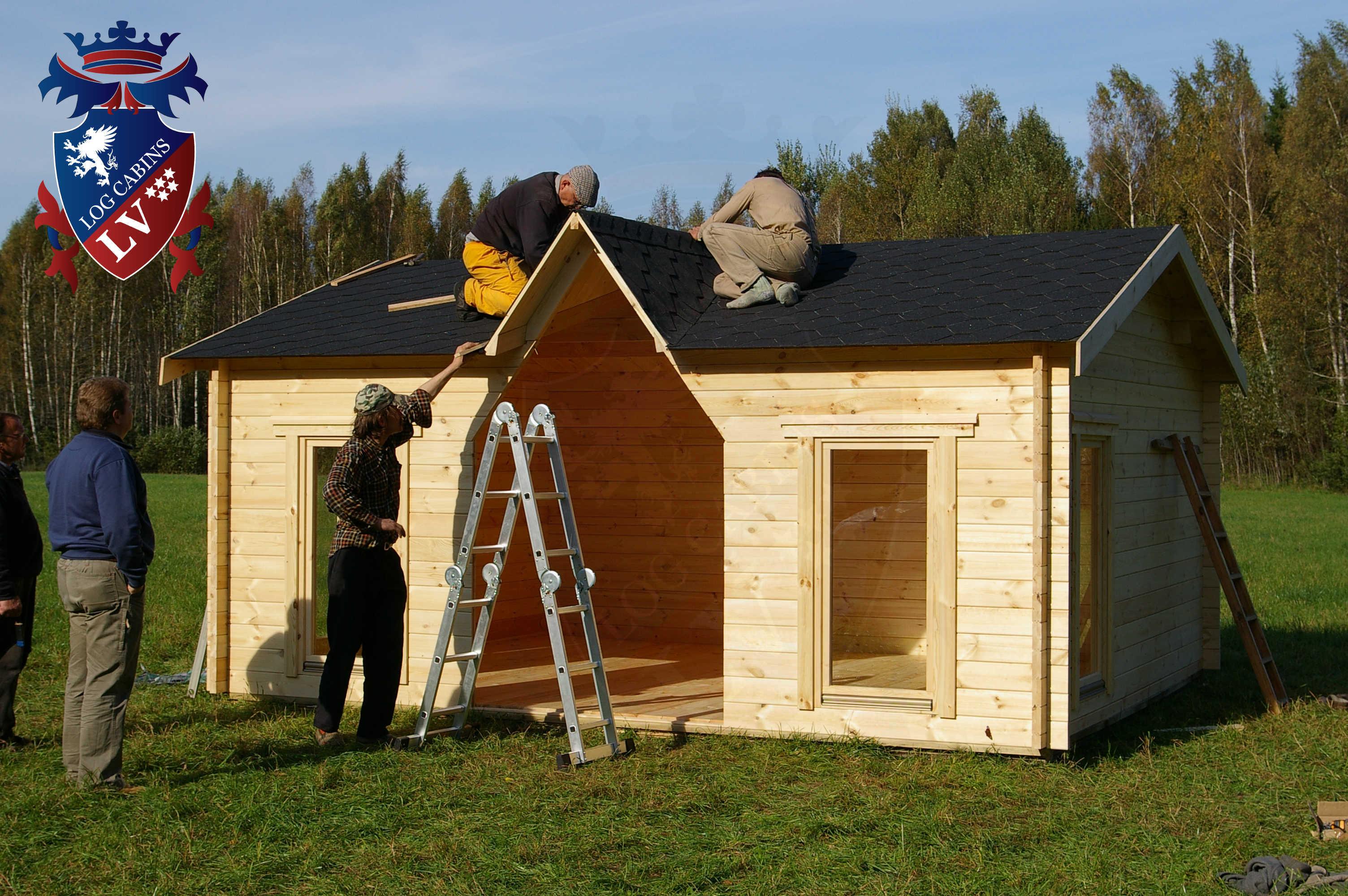 Chapel log cabin