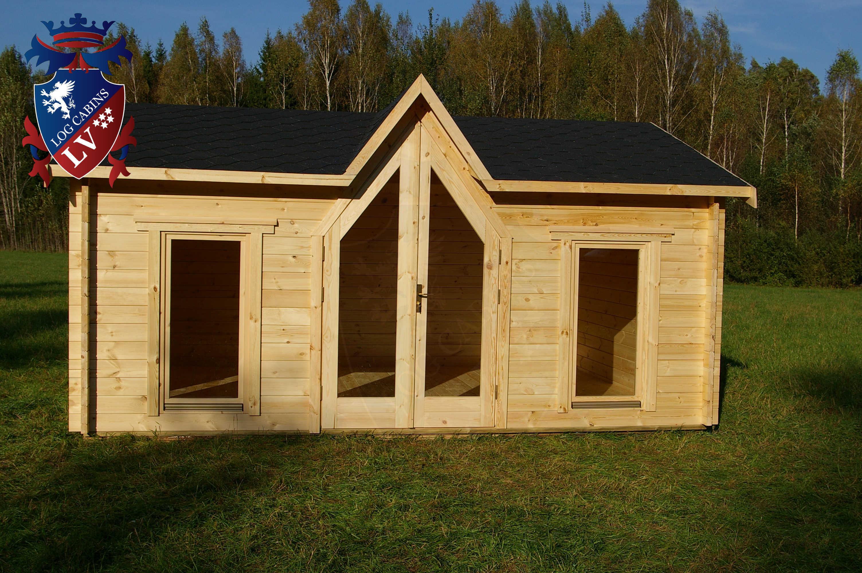 LV chapel log cabin