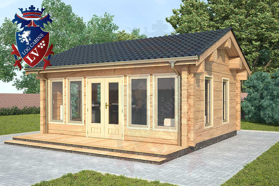 Clock House Log Cabins   0212