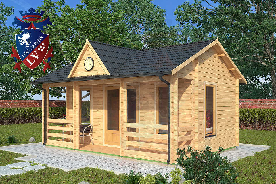 Clock House Log Cabins  04