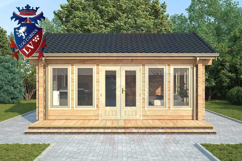 Clock House Log Cabins   0422