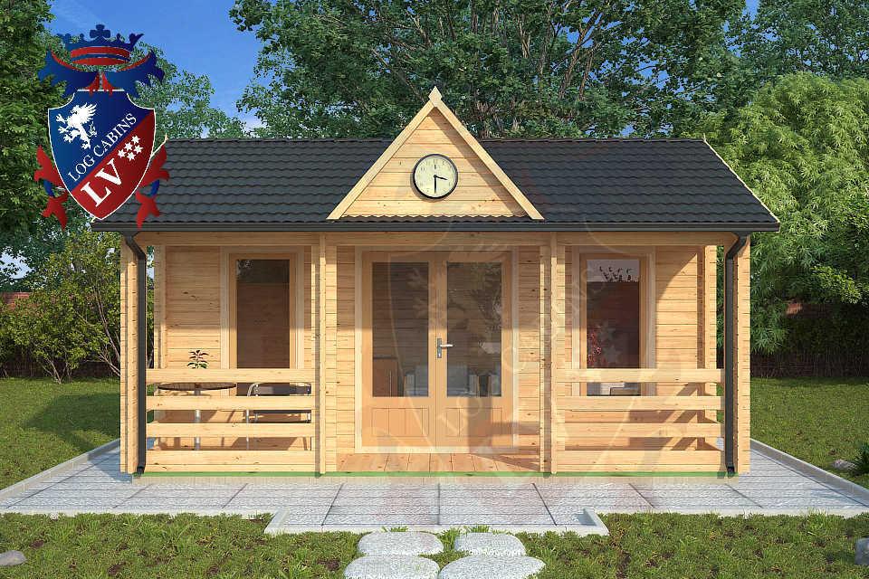 Clock House Log Cabins  06