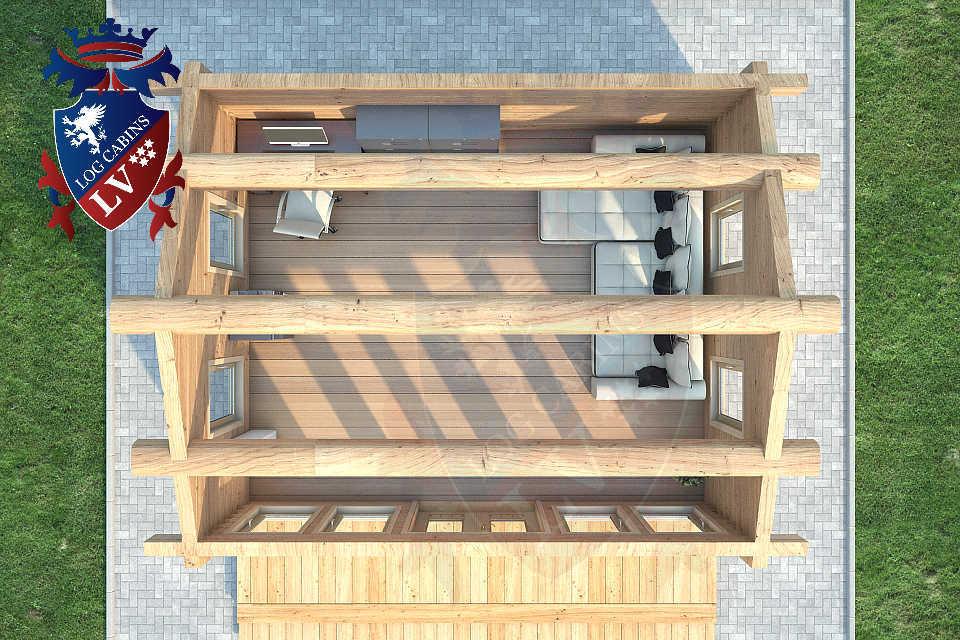 Clock House Log Cabins   0632