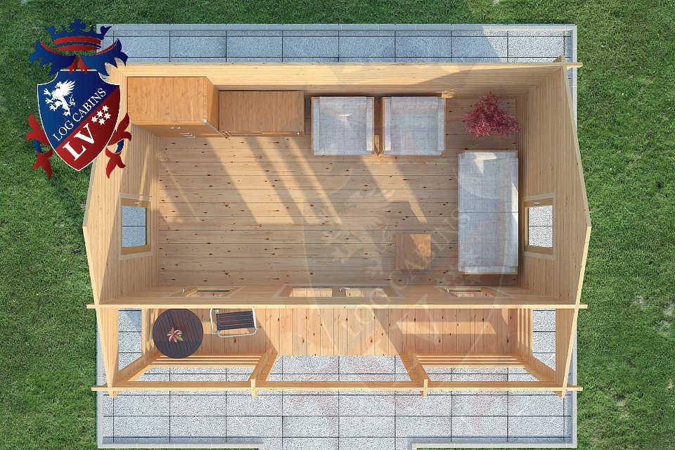 Clock House Log Cabins  08