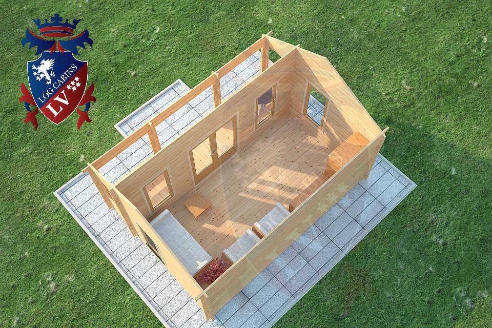 Clock House Log Cabins  10