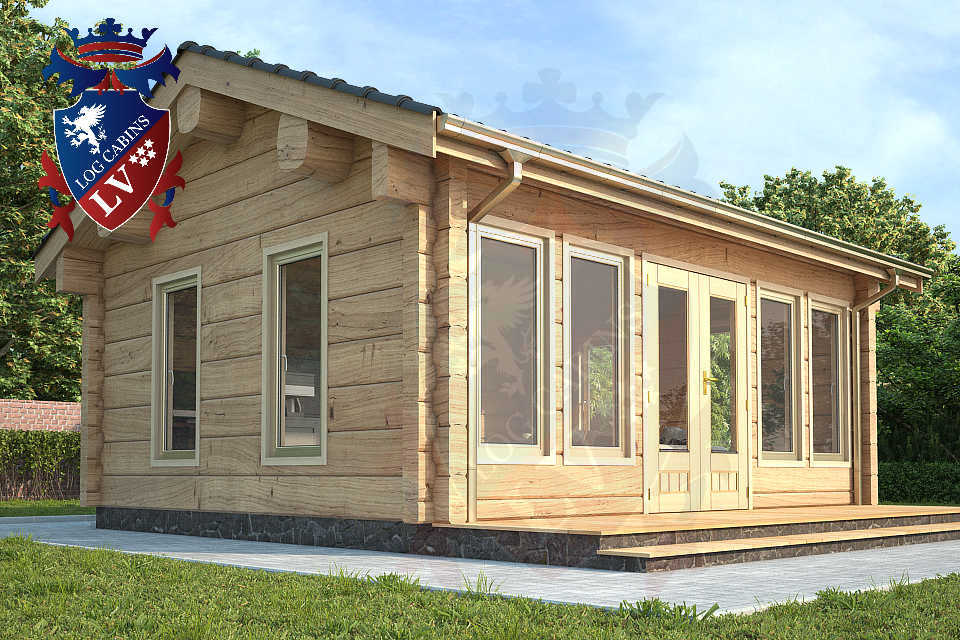 Clock House Log Cabins   1052