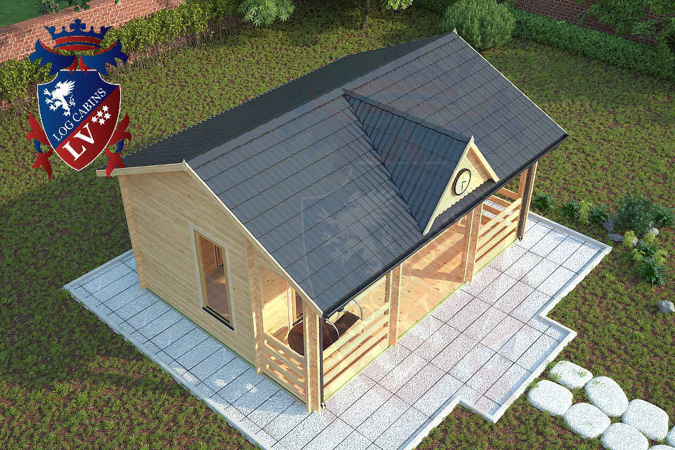 Clock House Log Cabins  12
