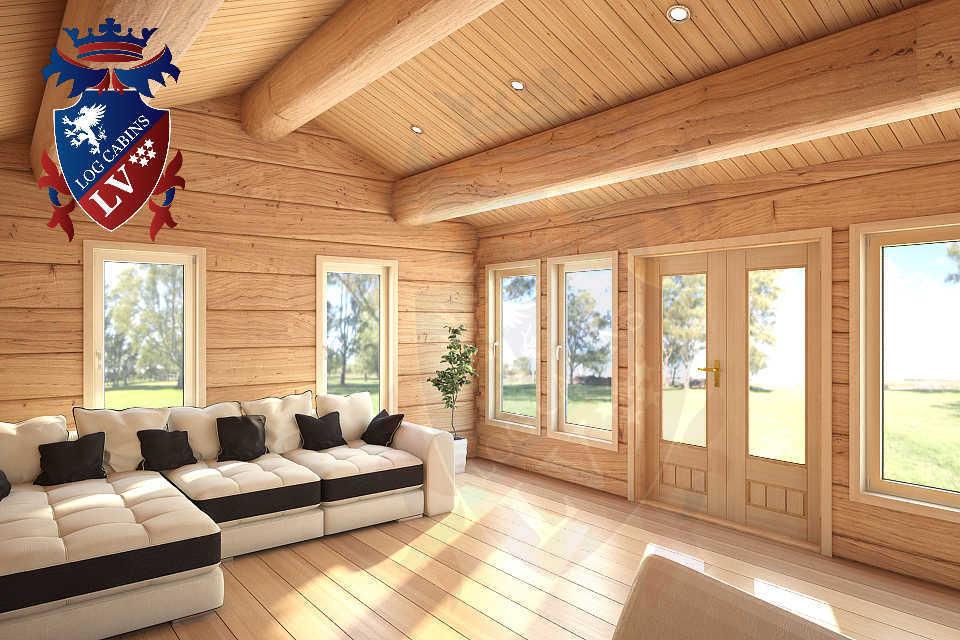 Clock House Log Cabins   1262