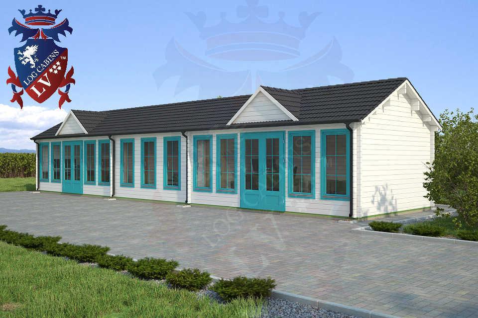 Clock House Log Cabins 15.2m x 4.0m     31