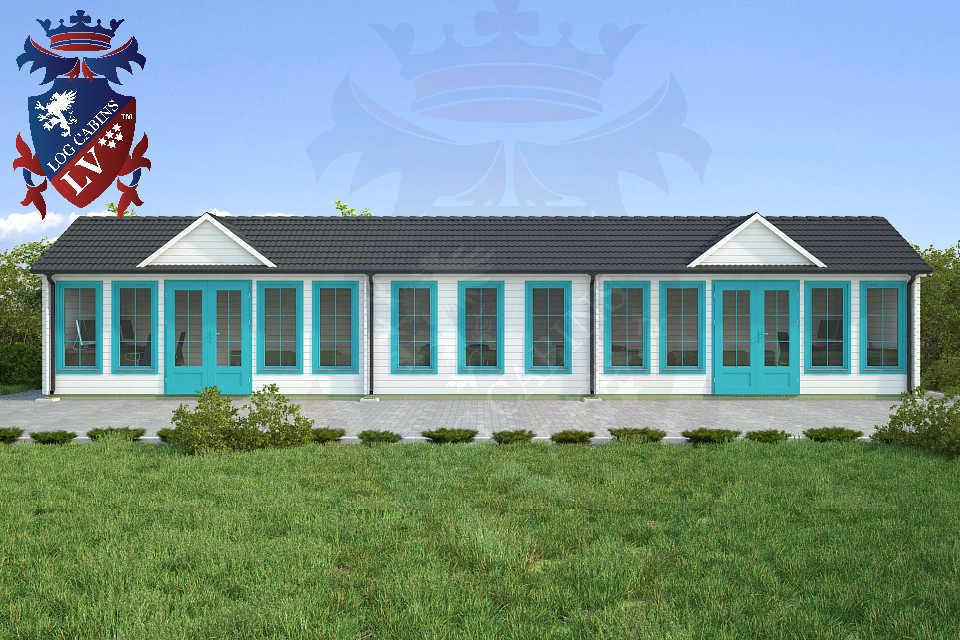 Clock House Log Cabins 15.2m x 4.0m     32