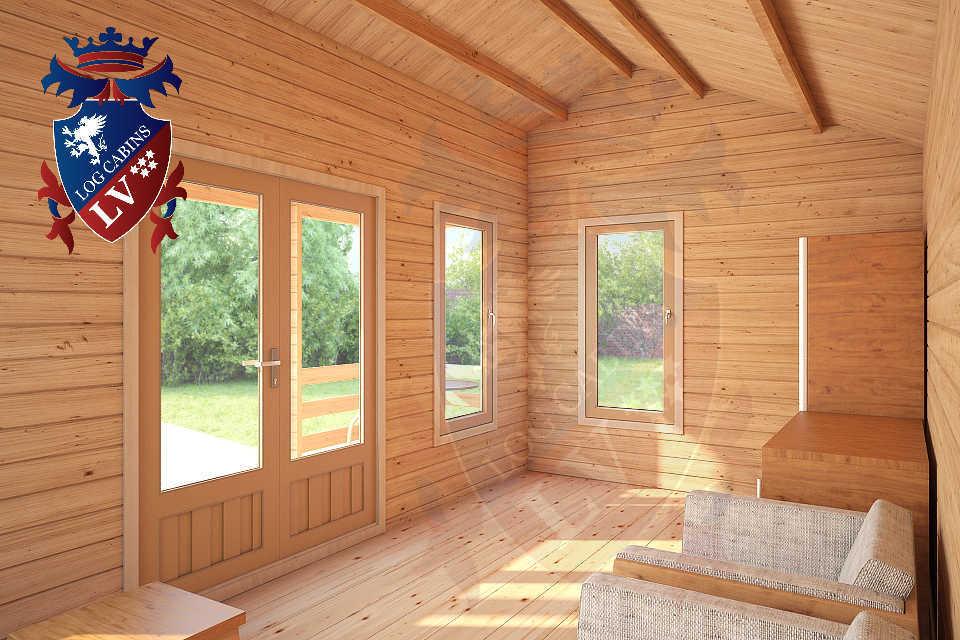 Clock House Log Cabins  18