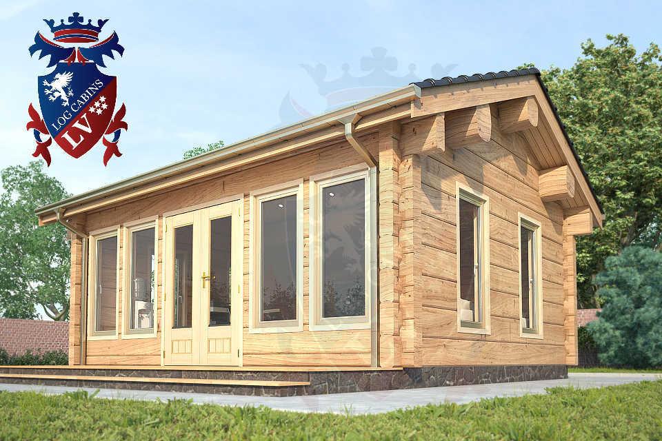 Clock House Log Cabins   1892