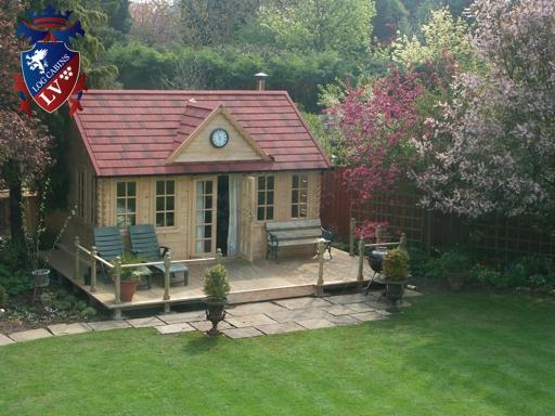 Clock House Log Cabins  67