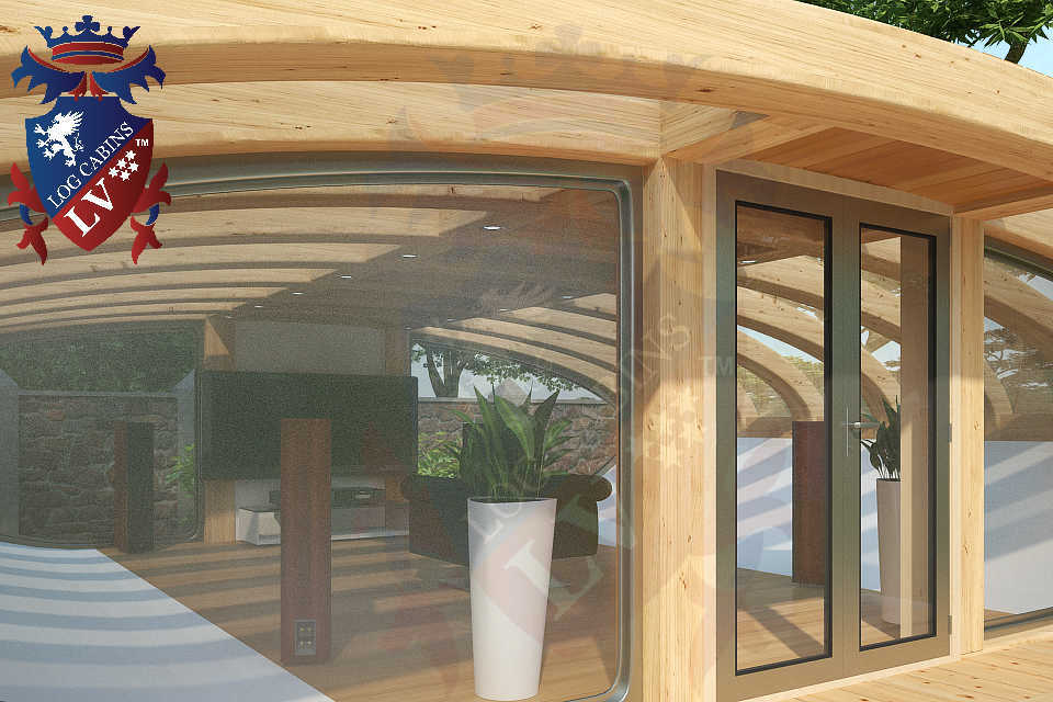 amazing iconic timber frame deluxe cinema pods