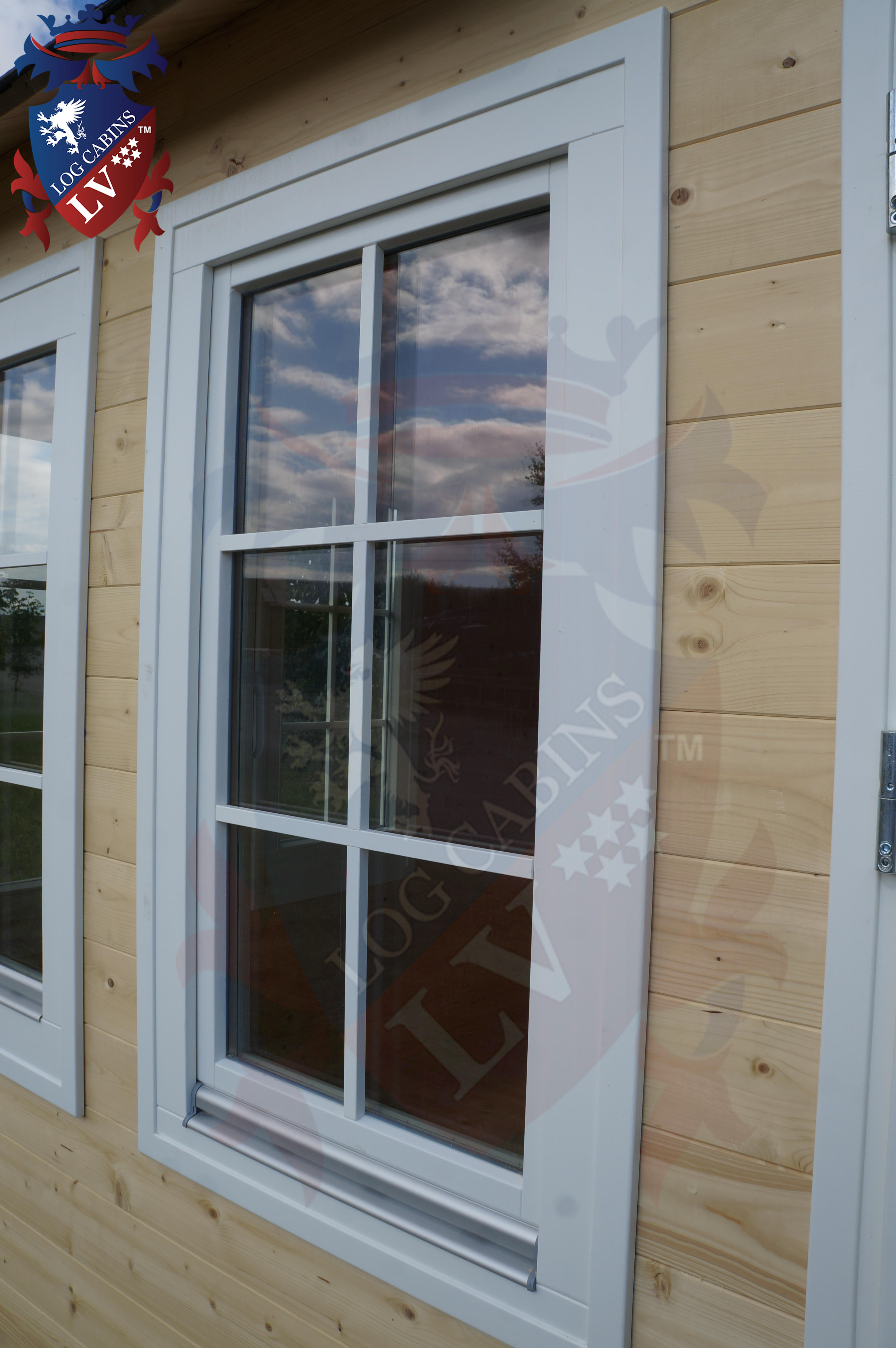 Delux windows and doors log cabins LV  06