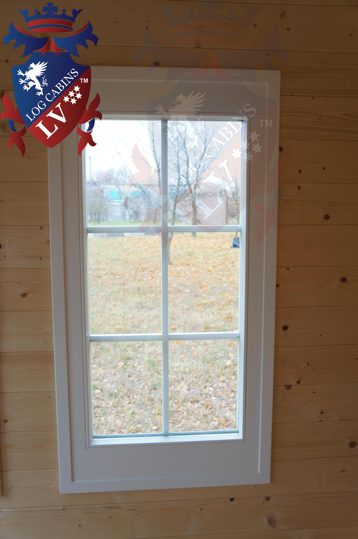 Deluxe Log Cabins Windows and Doors  2