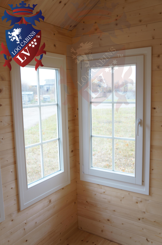 Deluxe Log Cabins Windows and Doors  3