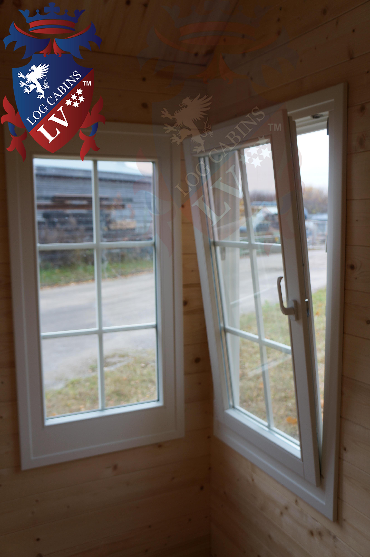 Deluxe Log Cabins Windows and Doors  4