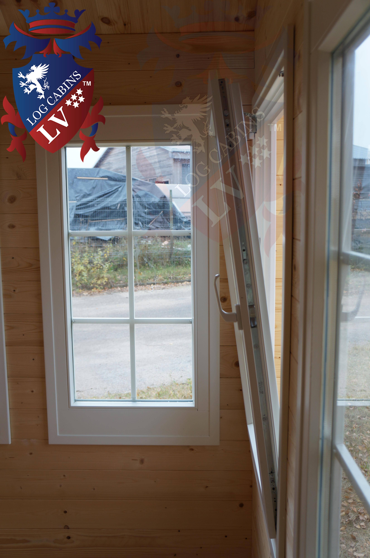 Log Cabins Deluxe Windows and doors