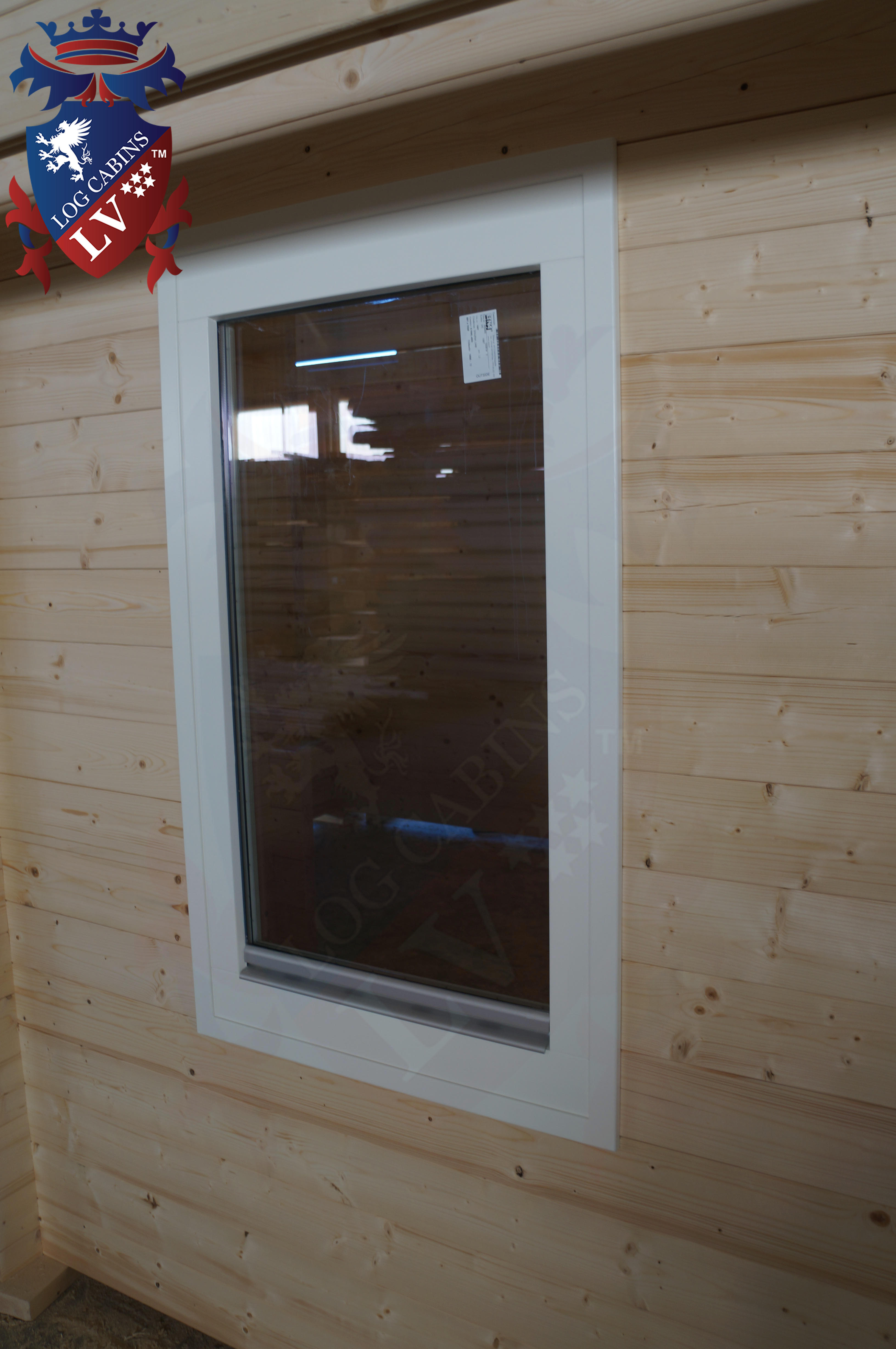 Deluxe Quality windows and doors, log cabins, LV   12