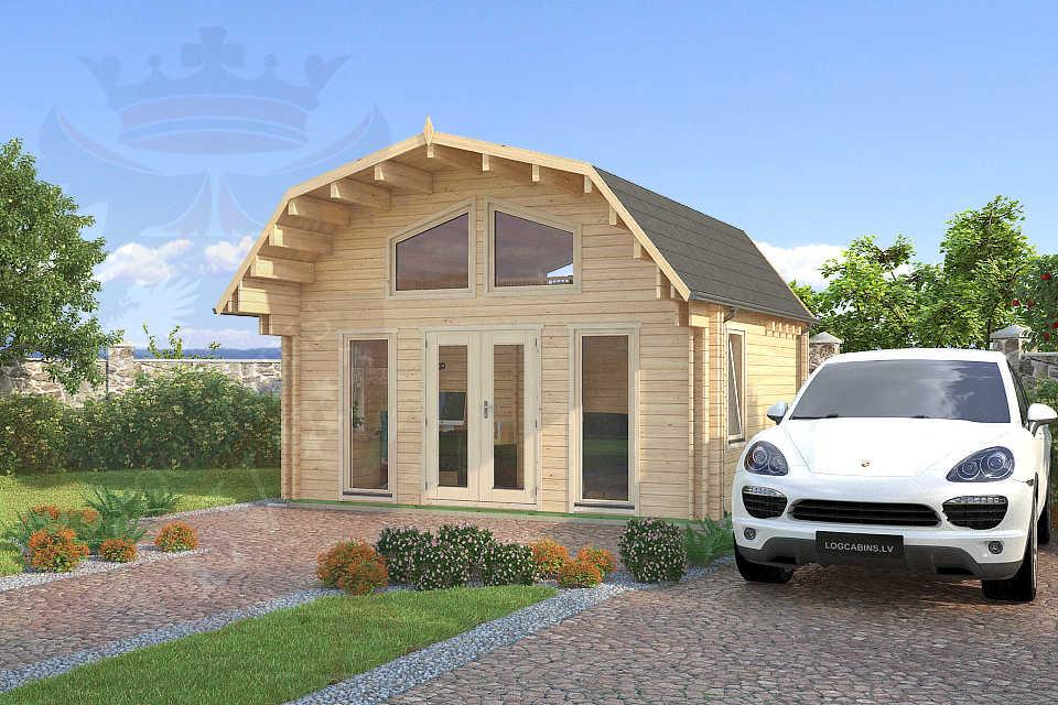 dutch barn log cabins